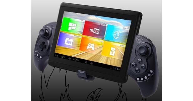 Un game pad spécifique permet d'utiliser la tablette pour les jeux