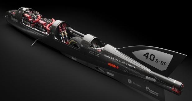 Castrol Rocket : pour un nouveau record à plus de 400 mph