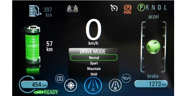 L'Opel Ampera disponible sous forme de fiche technique pour les secours