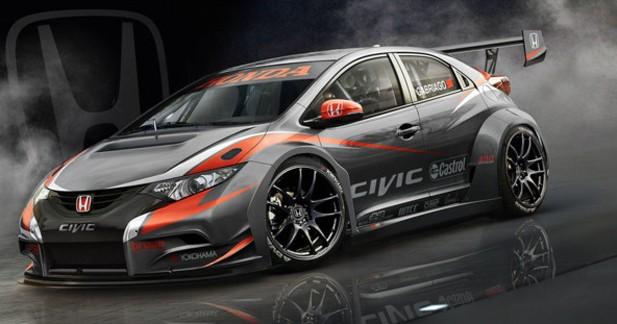 Honda affûte sa Civic WTCC pour le championnat 2014