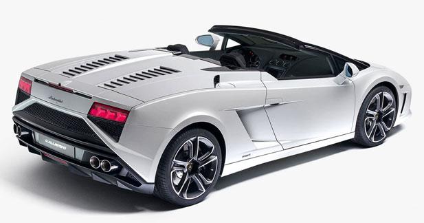 Lamborghini Gallardo Spyder restylée : le Spyder relifté à son tour