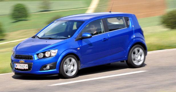 Essai Chevrolet Aveo 5p 1.4 Automatique : miss USA