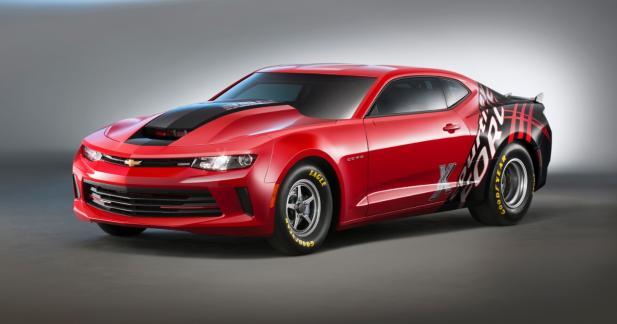 Chevrolet dégaine une Camaro COPO pour le dragster