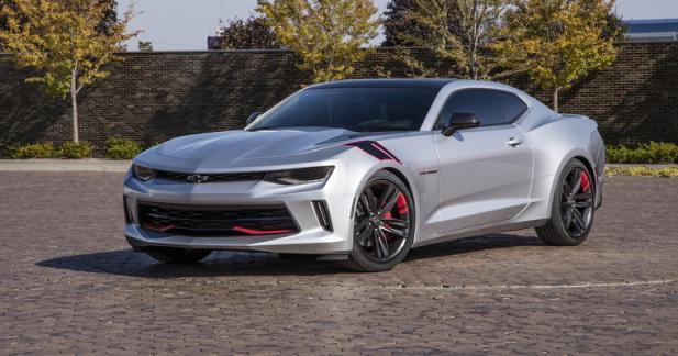 Chevrolet apportera une Camaro Red Line au SEMA Show
