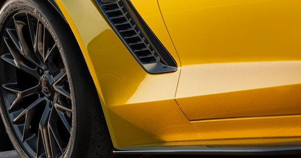La Chevrolet Corvette Z06 sera à Detroit