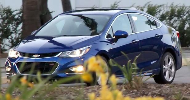 Spyshots: la Chevrolet Cruze se renouvelle pour le marché global