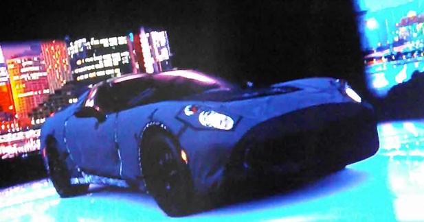 Apparition remarquée mais camouflée de la Corvette C7 dans Gran Turismo 5