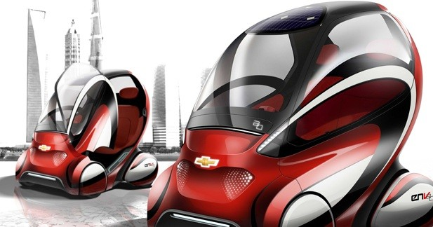 Chevrolet EN-V 2.0 : Science-fiction ?