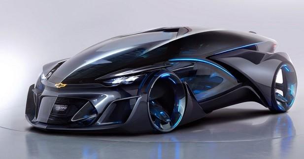 Chevrolet FNR: la Batmobile en serait jalouse