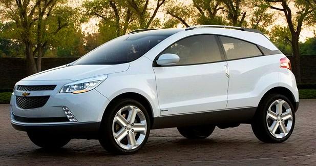 Chevrolet GPiX Concept : crossover coupé à la brésilienne
