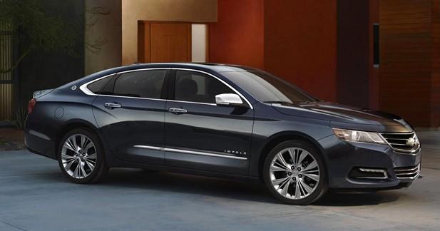 Chevrolet rajeunit l'Impala pour la Salon de New York 2012