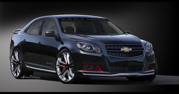 Chevrolet présentera une Malibu plus sportive au Sema Show