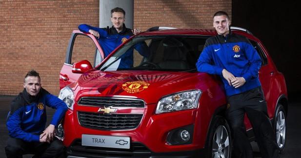 Chevrolet : un Trax aux couleurs de Manchester United en vente pour la bonne cause