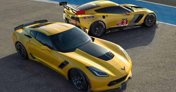 Les Chevrolet Corvette Z06 et C7.R en vedettes à Genève