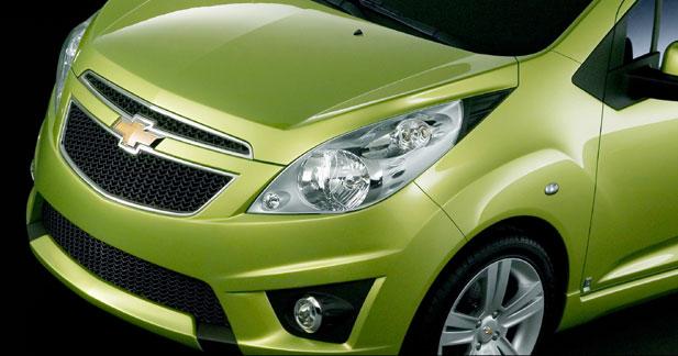Chevrolet Spark : minispace, forte personnalité