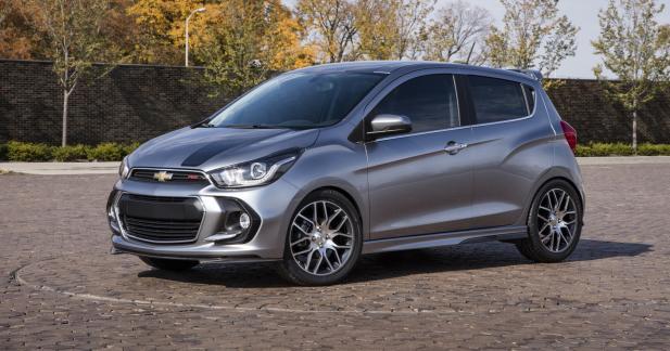 Chevrolet dévoile la Spark RS