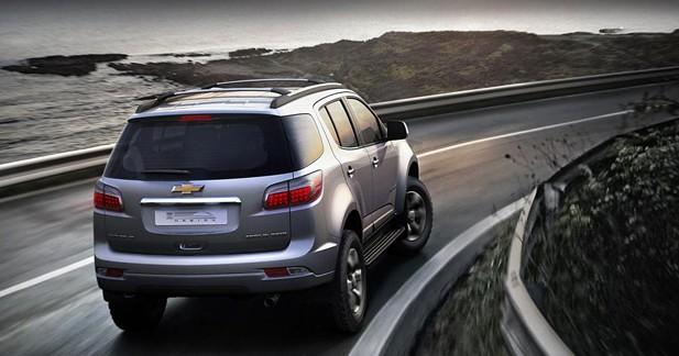 Chevrolet Trailblazer : Chevrolet dévoile son ''Thaï'' Blazer