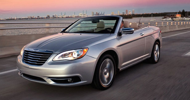 Chrysler 200 Convertible : timide reconversion