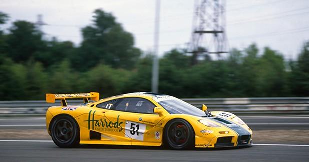 McLaren exposera cinq F1 GTR qui ont marqué l'histoire du Mans