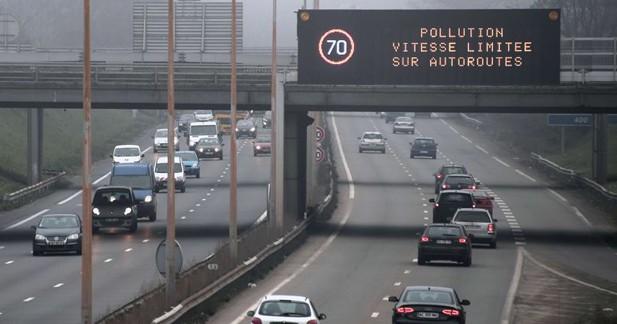 Une circulation alternée en 2014, les jours de grande pollution