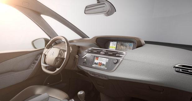 Nouveau Citroën C4 Picasso : un intérieur conçu comme un loft