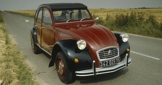 Citroën annonce le retour de la 2CV en 2014