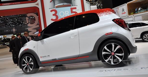 Citroën C1 Swiss & Me : A l'assaut des trottoirs genevois