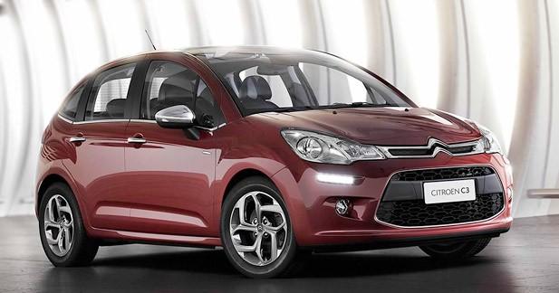 Citroën C3 restylée : Lifting brésilien