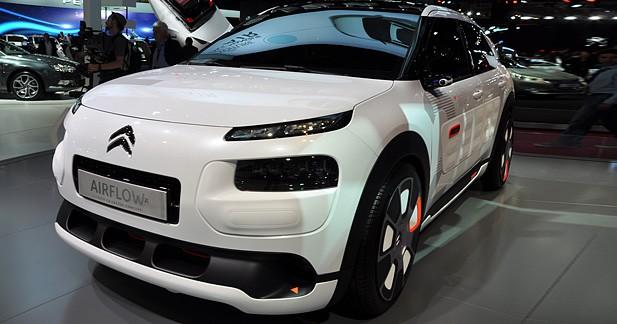 Mondial Auto 2014 : Citroën C4 Airflow, non rechargeable et seulement 2 l/100 km