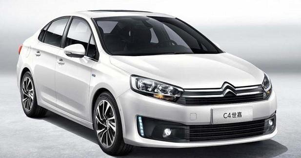 Citroën renouvelle la C4 tricorps