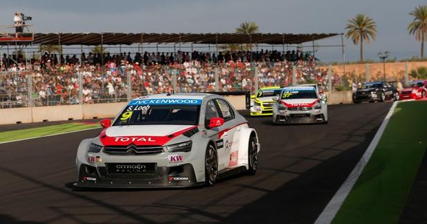WTCC : Citroën et Loeb déjà dans le coup