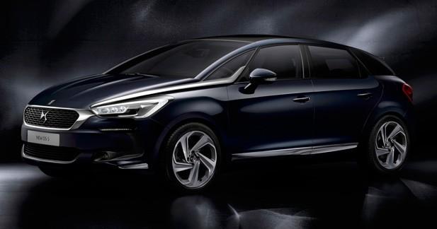 Citroën DS5 restylée: adieu les chevrons