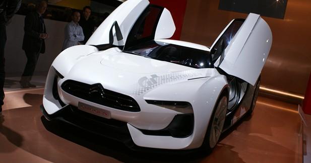 Citroën GT Concept : les Chevrons se dévergondent