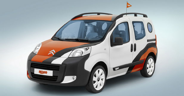 Citroën Nemo Concetto : comme un poisson à Bologne
