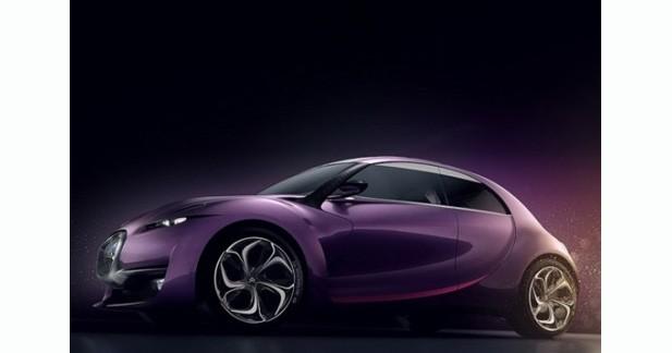 Une exposition des concept-cars Citroën à Paris