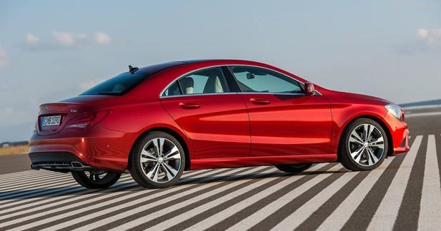Nouvelle version diesel d'entrée de gamme pour la Mercedes CLA