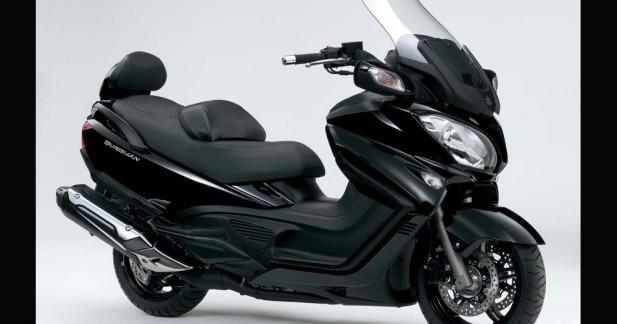 Cologne 2012 : Suzuki Burgman 650 2013, peau neuve !