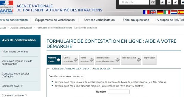 Contester ses amendes radar sur internet, c'est désormais possible