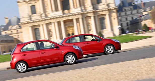 Comparatif Nissan Micra 1.2 80 Tekna / Citroën C3 1.4i 75 Confort : A l'assaut des villes