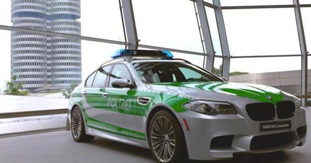 BMW M5 : une voiture de police surpuissante