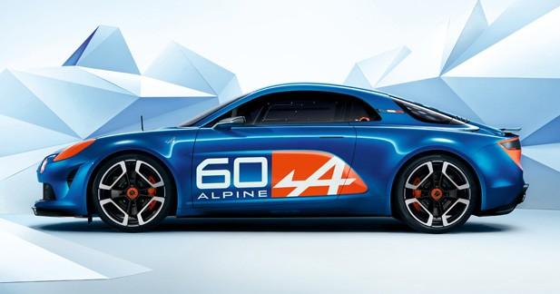 Concept Célébration: un premier jet pour la nouvelle Alpine
