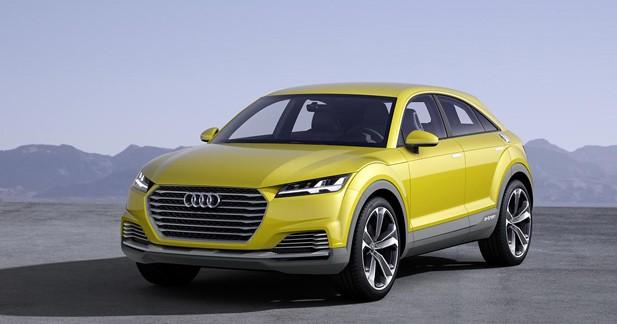 Concept Audi TT Offroad : Le TT a soif de trottoirs