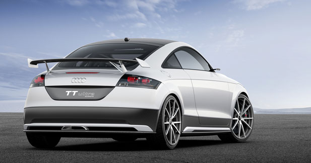 TT Ultra Quattro Concept : une Audi aux perfs de supercar