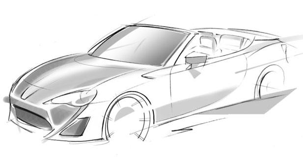 Toyota : Une étude de GT 86 découvrable à Genève