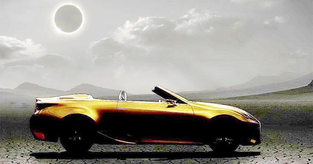 Lexus LF-C2 : le coupé RC bientôt accompagné d'une version découvrable