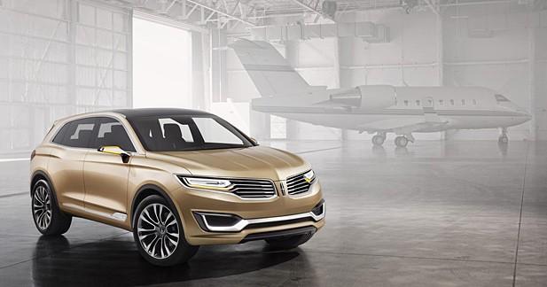 Concept Lincoln MKX : la Chine dans le collimateur