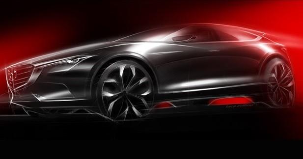 Le nouveau Mazda CX-7 préfiguré à Francfort ?