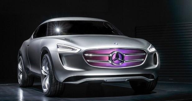 Concept Mercedes G-Code : concentré de technologies