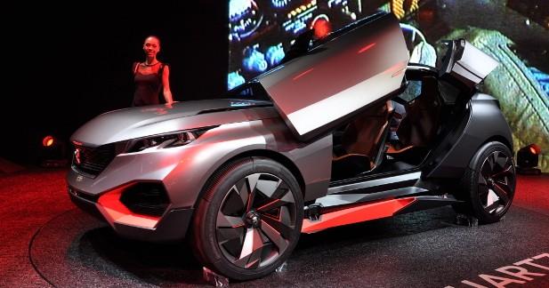 Mondial Auto 2014 : Peugeot Quartz, à la croisée des genres