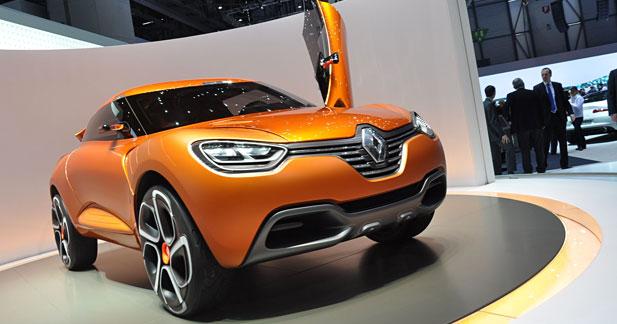 Concept Renault Captur : Belle prise !